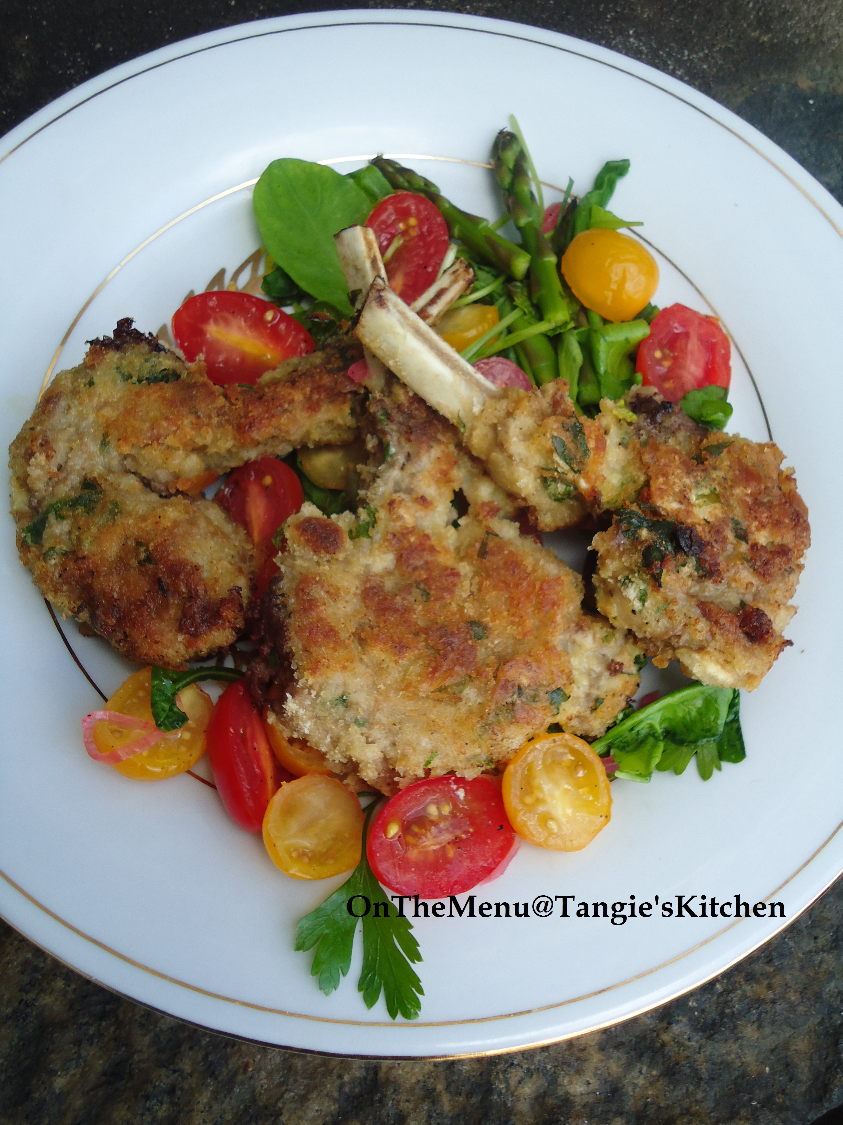 Lamb Chops Milanese On The Menu Tangie S Kitchen