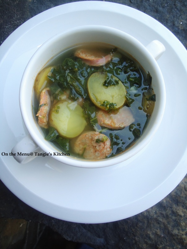 Caldo Verde | On the Menu @ Tangie\'s Kitchen