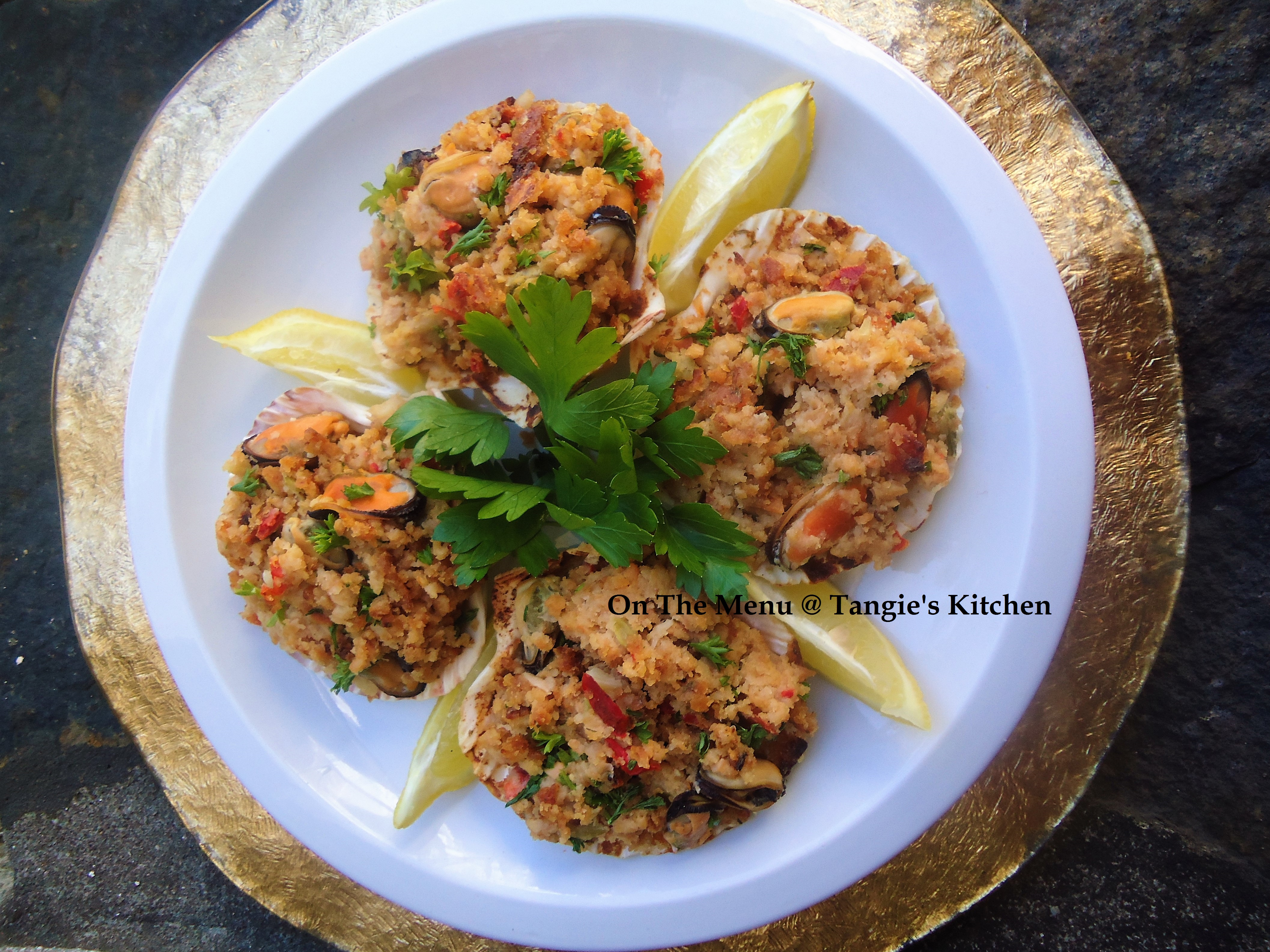 Coquilles De Fruits De Mer On The Menu Tangie S Kitchen