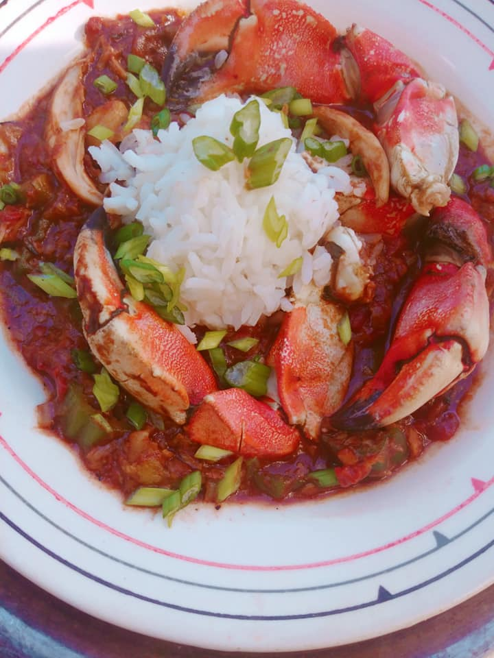 catfish crab gumbo