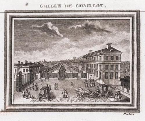 François_Nicolas_Martinet,_Site_of_Hotel_d'Langeac,_Jefferson's_residence_in_Paris_-_Lehigh_University_Library